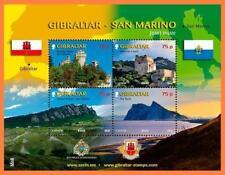 2010 Gibraltar-San Marino - Gibilterra - foglietto