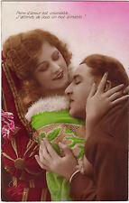 CPA - Femme, Séduction, amour, couple, années 1920.