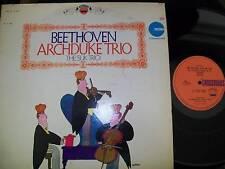 THE SUK TRIO-BEETHOVEN:ARCHDUKE TRIO-LP-CROSSROADS-VG++
