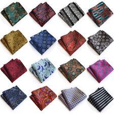 Men's Formal Paisley Floral Handkerchief Wedding Party Business Pocket Square