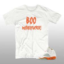 BOO MOTHERFUCKER! T-SHIRT | FUNNY TEE TO MATCH NIKE AIR JORDAN RETRO 5 V - NEW