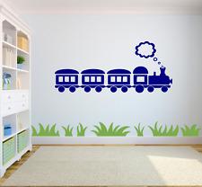 Treno a vapore Bambini Kids Home decalcomania della parete Adesivo Arte RAGAZZI / RAGAZZE CAMERA CH6