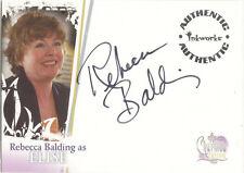 "Charmed Destiny - A5 Rebecca Balding ""Elise"" Auto/Autograph Card"