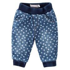 BÓBOLI FORRADA baby-jeans con estampado de Patas TALLA 56 62 68 74 80