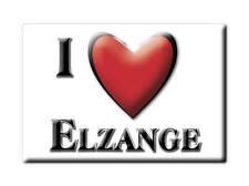 MAGNETS FRANCE - FRANCHE COMTÉ SOUVENIR AIMANT I LOVE ELZANGE (MOSELLE)