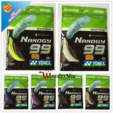 [Max 30lbs] Genuine YY Badminton String NBG99 Nanogy Control 0.69mm (6 COLOR) CA