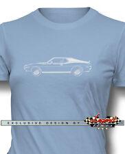 AMC AMX 1971 - 1972 Coupe T-Shirt for Women - Multiple Colors & Sizes - American