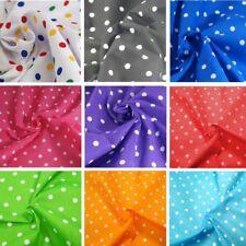 Polycotton Fabric Pea Spot Polka Dots Spots Dotty