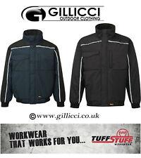 Tuff Stuff Pro seguridad Workwear Trabajo Pesado Acolchado Hi Viz visibilidad chaqueta de abrigo