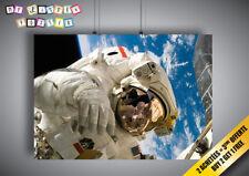 Poster Astronauta Produzione Nel L'espace Iss Strumenti Costume 02