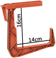 2x Soporte para Caja Balcón Venus Plástico Terracota, marrón, verde, blanco FP