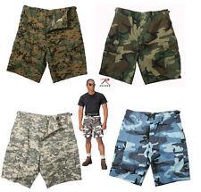 Men's BDU Combat Shorts Rothco Poly/Cotton GARGOS BDU SIZES S M L XL 2X 3X 4X