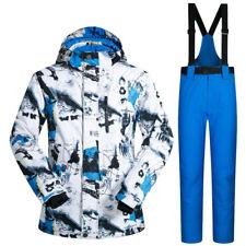 NEW Winter Ski Suit Men Outdoor Waterproof Windproof Snowboard Jackets & Pants