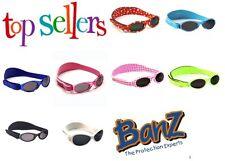 BABY BANZ Kidz GENUINE Adventurer Sunglasses Kids Childs 100% UVA UVB Girls Boys