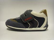 Geox B114D blu scarpa bassa strappi shoe short rips tessuto camoscio fabric cham