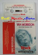 MC VAN MORRISON Live San francisco 1970 DIZIONARIO ROCK PROMO no cd lp dvd vhs