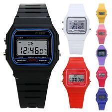 Women's Men Kids Electronic LED Digital Multifunction Plastic Sports Wrist Watch