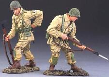 THOMAS GUNN WW2 U.S. ARMY AIRBORNE ATW004A 101ST HOUSE PARTY NORMANDY SET 2 MIB