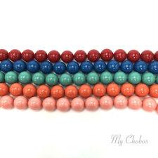Swarovski 5810 Crystal Round Pearls Beads GEM Colors Mix