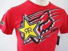 FOX RACING ROCKSTAR Mens ZOOM Premium Top T-shirt Tee Size S M L XL XXL red