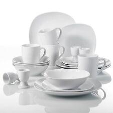 Kitchen Dinnerware Dinner Set Plates Bowls Porcelain Crockery Dining Service Set