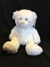 NEW 42cm Soft White Teddy Bear Toy Pink Blue Baby Cakes Gift Plush TeddyTime