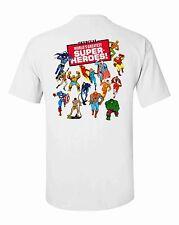 WORLDS GREATEST SUPER HEROS MEGO T-SHIRT /  WGSH