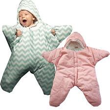 Baby Kinder Seestern Stern Schlafsack Fußsack für Kinderwagen o. Maxi Cosi 85 cm