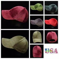 Baseball Cap Plain Fashion Hat Ball Caps Velvet Casual Polo Style Hats Unisex
