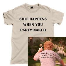 BAD SANTA T Shirt Billy Bob Thornton Christmas Party Naked Drunk Santa Claus Tee