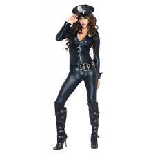 Sexy Cop Costume Adult Police Woman Halloween Fancy Dress