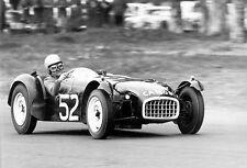 1958 Lotus Seven & Jaap Luyendijk at Springbok Race - South Africa Photo Poster