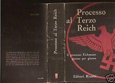 PAOLO PARDO-PROCESSO AL TERZO REICH-1a ED 1962-SL25