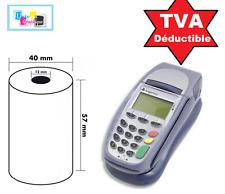 Rouleaux papier Thermique pour Machine carte Schlumberger Magic X1000, 5100.