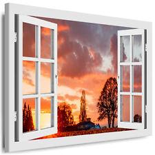 deko bilder drucke auf leinwand mit sonnenuntergang f r. Black Bedroom Furniture Sets. Home Design Ideas