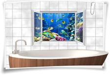 Fliesenaufkleber Fliesenbild Fliesen Korallen Fische Aufkleber Bad Küche WC