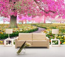 3D Garten Lila Baum 85 Tapete Wandgemälde Tapete Tapeten Bild Familie DE
