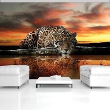 Fototapete Tapete Wandbild 15F0074400 Vlies Photo Wallpaper Mural Jaguar und Son