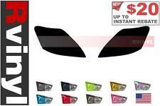 Rtint Headlight Tint Precut Smoked Film Covers for Toyota Yaris 2007-2011 Sedan