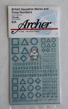 Archer 1/35 British Squadron Signs Junior Regiment (Blue) AR35086BL