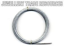 NEW LONG CASE STEEL GUT WEIGHT LINE CLOCK REPAIR 1.5mm