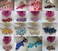 30 Glaswachsperlen  Perlen Beads  Kugel  -10mm - Schmuck - Auswahl - DIY-