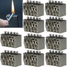 Survival Lighter Emergency Camping Match Fire Starter Permanent Flint Metal Kit