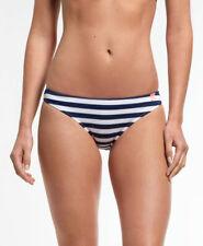 New Womens Superdry Marine Stripe Bikini Bottoms Navy