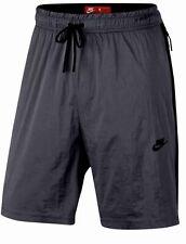 NIKE Tech Pack Hypermesh Dark Grey Black Loose Fit Shorts NEW Mens XS