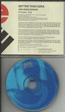 BETTER THAN EZRA One More Murder RARE RADIO PROMO DJ CD single 1998