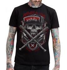 Camiseta chico negro Men T-Shirt black 'DISORDER' HYRAW