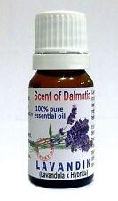 LAVENDER Dalmatia, LAVANDIN 100% Pure Organic Essential Oil