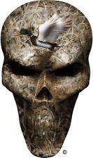 Mallard duck shadow grass skull golf cart go kart window vinyl graphic decal