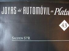 FASCICULE espagnol 43 JOYAS DE AUTOMOVIL  SALEEN S7R